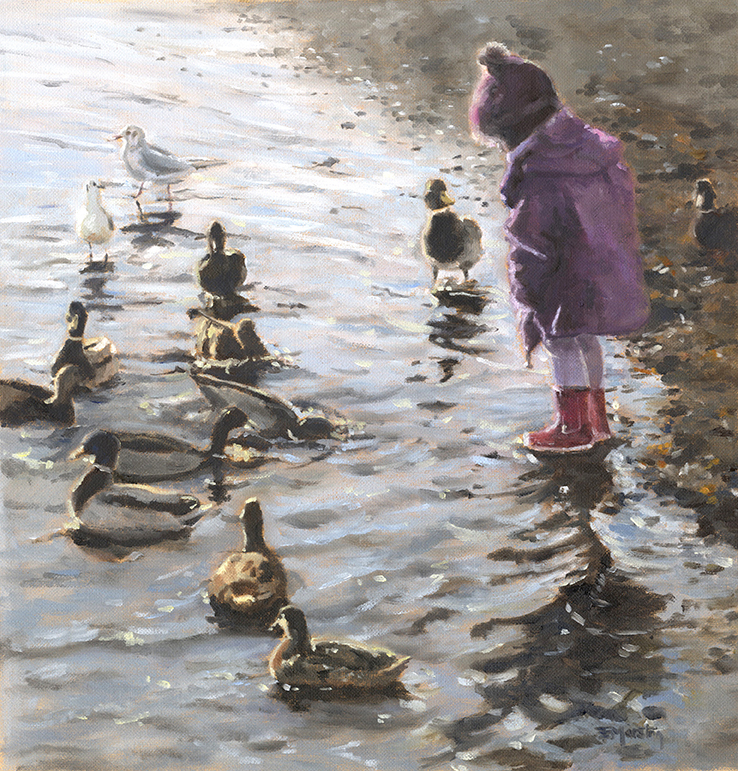 1.0-Feeding the ducks - Lake District