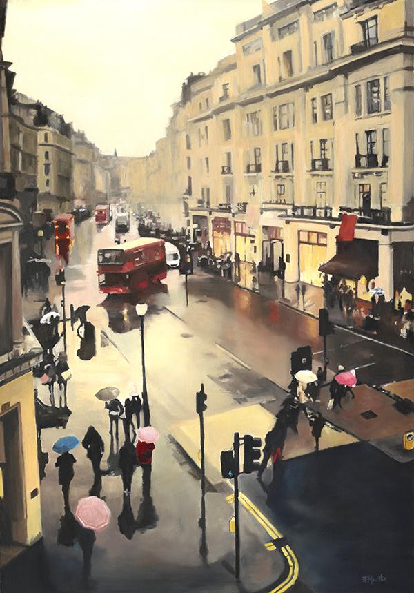 1.0-Rain on Regent Street