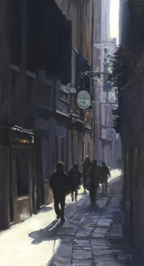 1.0-Street scene Venice