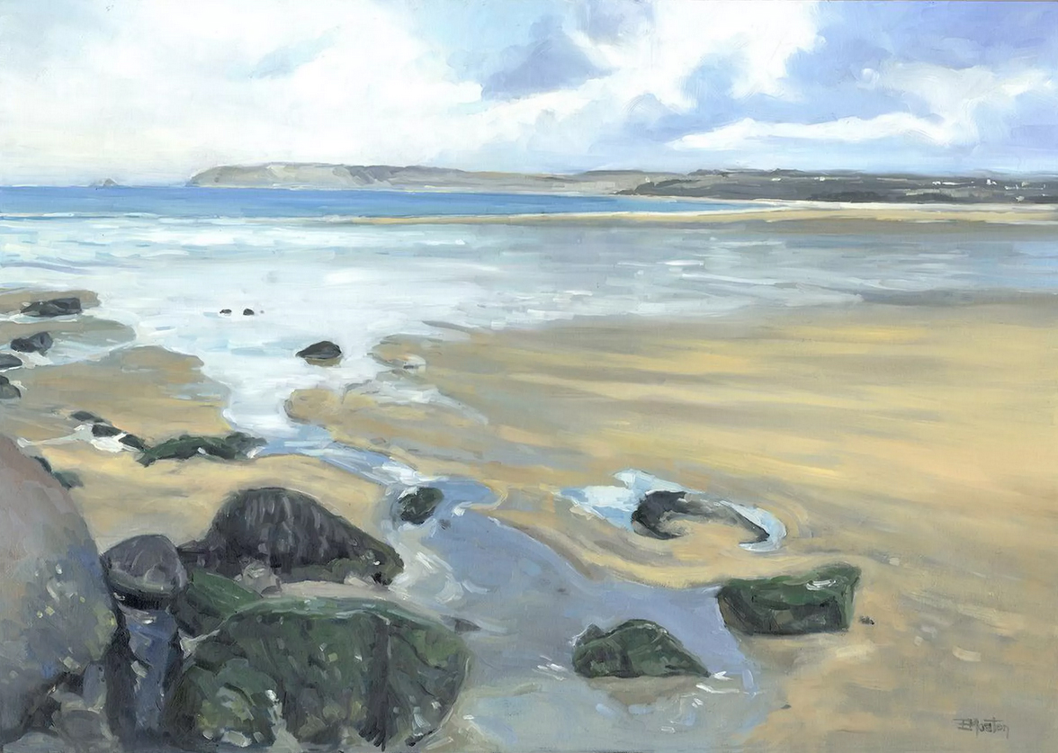 Beach Scene - Cornwall