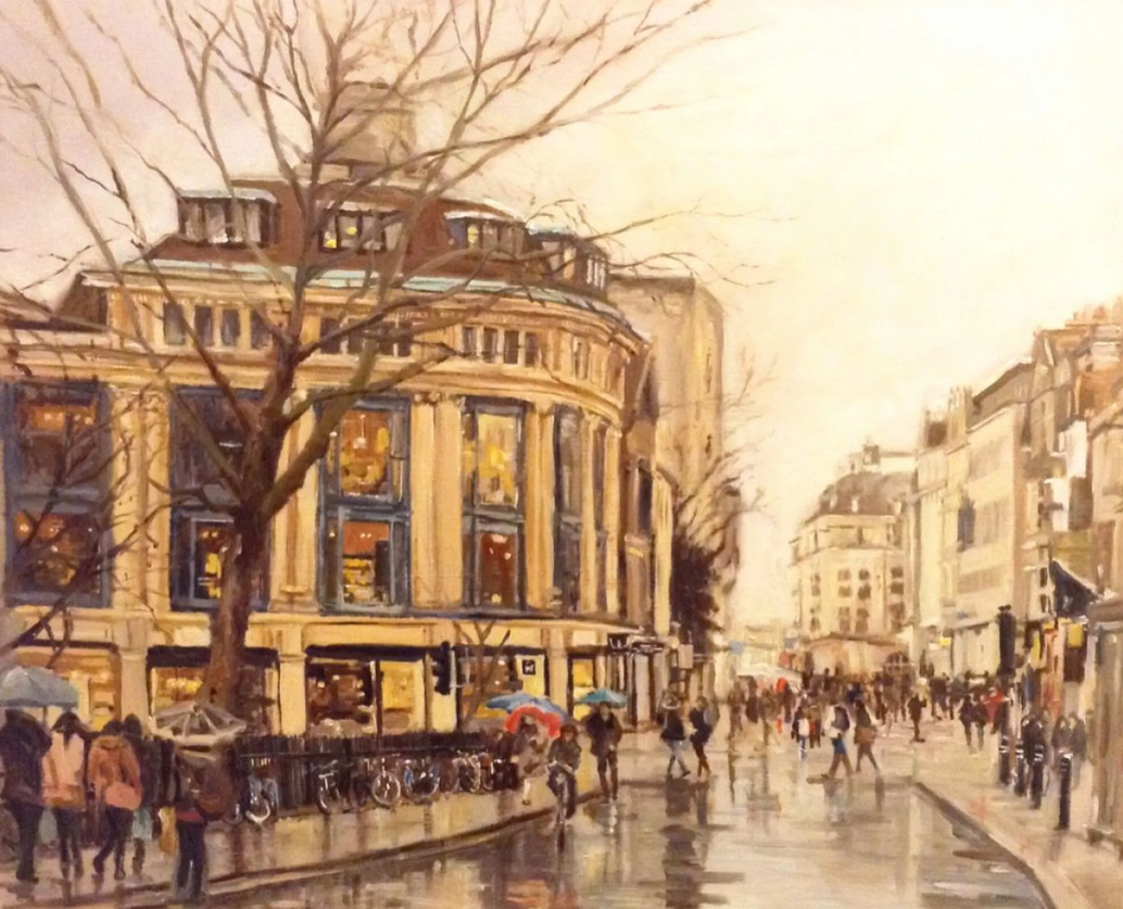 Oxford in the Rain