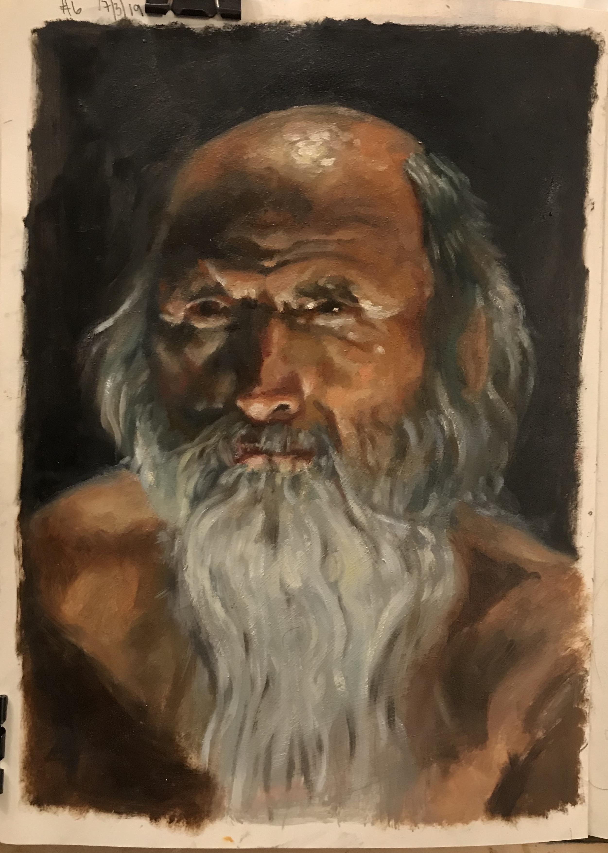 Sketchbook - Portrait Practice 6