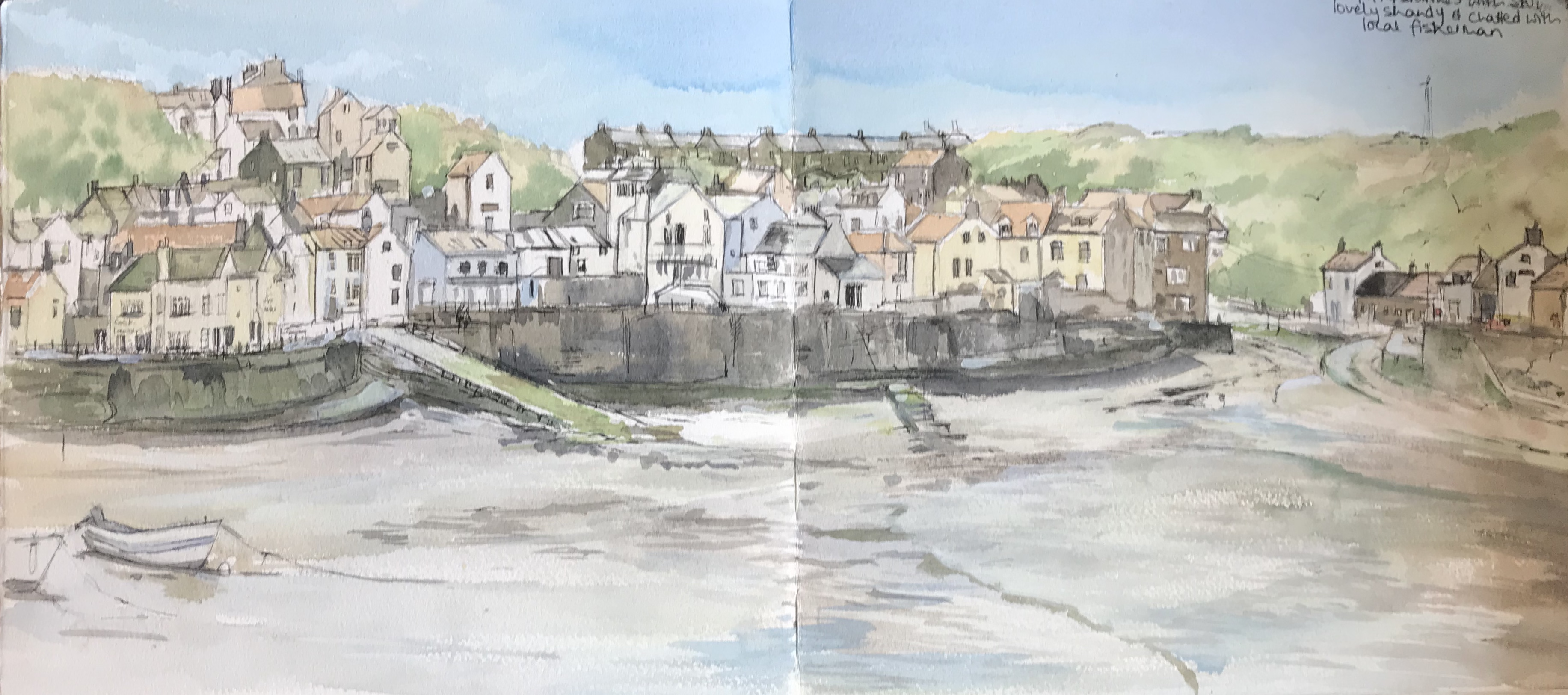 Sketchbook Staithes