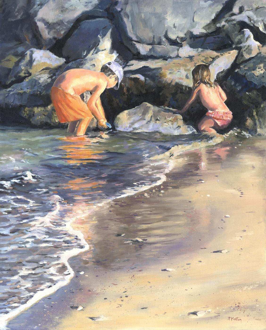 boy & Girl on beach